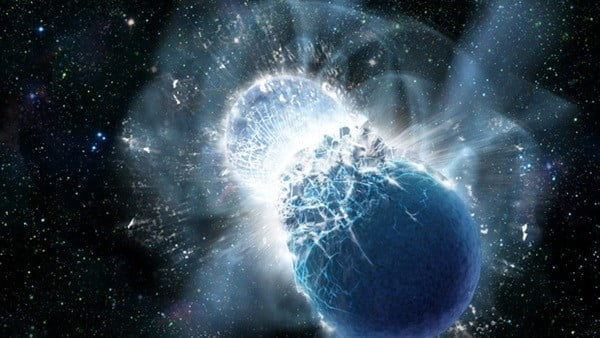 Gold on Earth could be result of neutron star collision 4.6 billion years ago