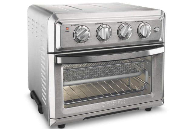 amazon 4th of july sale cuisinart toa 60 air fryer toaster oven  silver 1