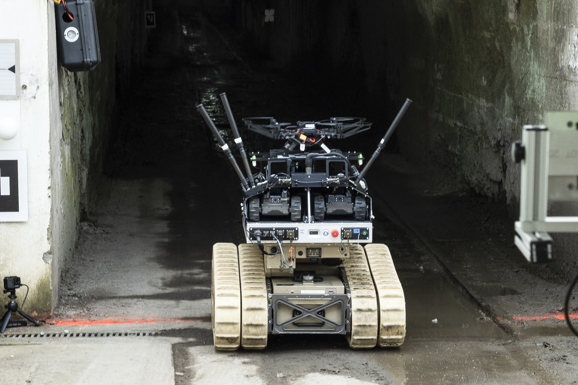 DARPA is sending robots underground to teach them to save lives