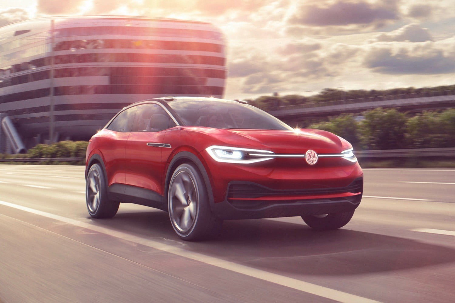 Volkswagen breaks ground on U.S. electric car factory, production starts in 2022