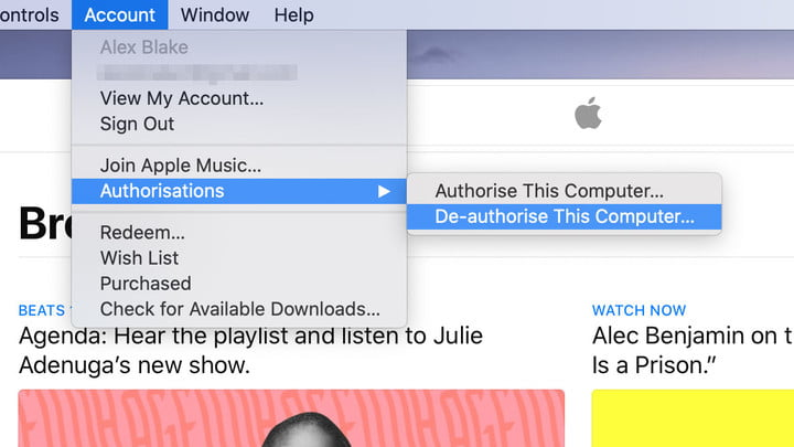 Restore a Mac to its Factory Settings: How to deauthorize your Mac in Apple Music