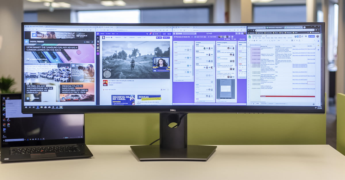 Want pure multitasking nirvana? Dell's Ultrasharp 49 is the monitor you'll  crave