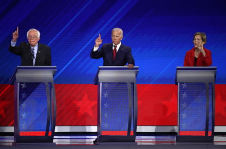 How to watch tonight's fourth Democratic primary debate live online