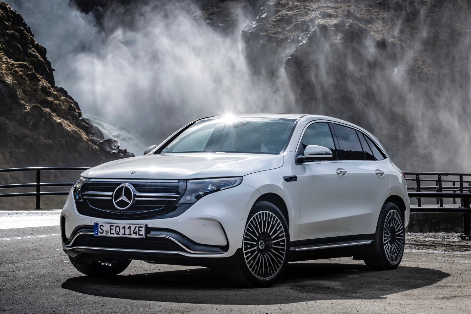 U.S. customers will have to wait another year for Mercedes' electric EQC