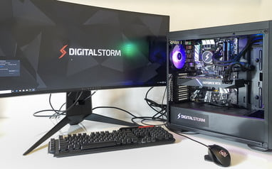 Pleasant Digital Storm Lynx Review A Prebuilt Gaming Pc With Stylish Home Interior And Landscaping Palasignezvosmurscom