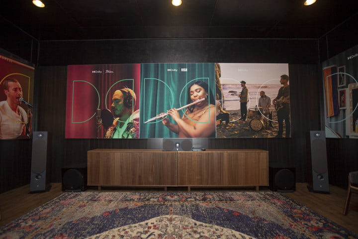 Dolby Atmos Music front