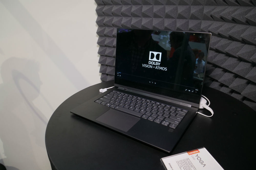 Dolby turns Lenovo laptops and Yoga Books into mobile home