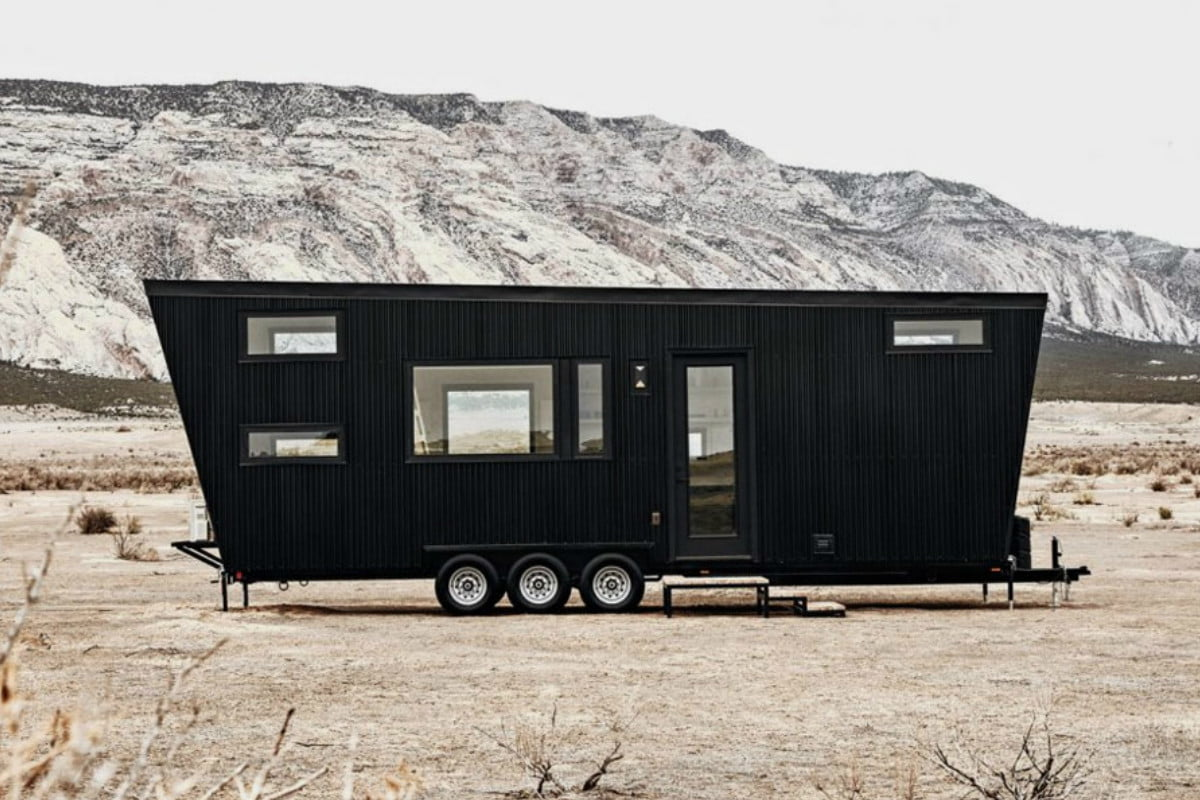 Live large in a small space with Drake, one of the craziest travel trailers