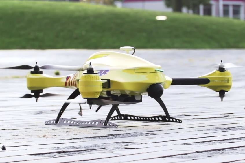 Check out the 'ambulance drone' that could one day save your life