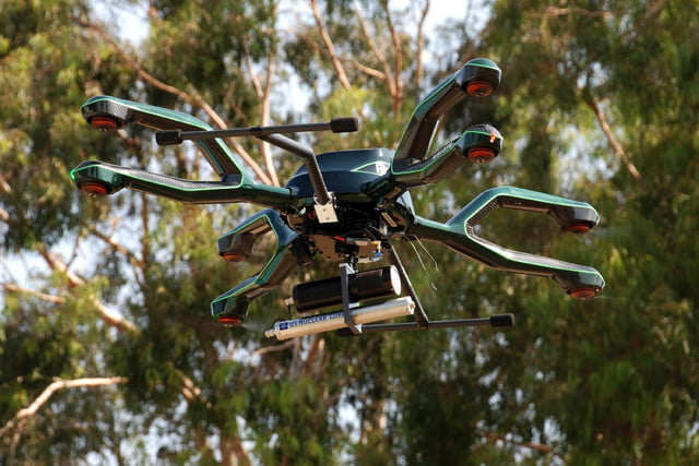 radiation and gas detecting drones drone4