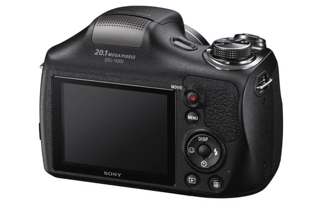 new sony cybershot cameras announced 2014 cp plus dsc h300 rear right 1200