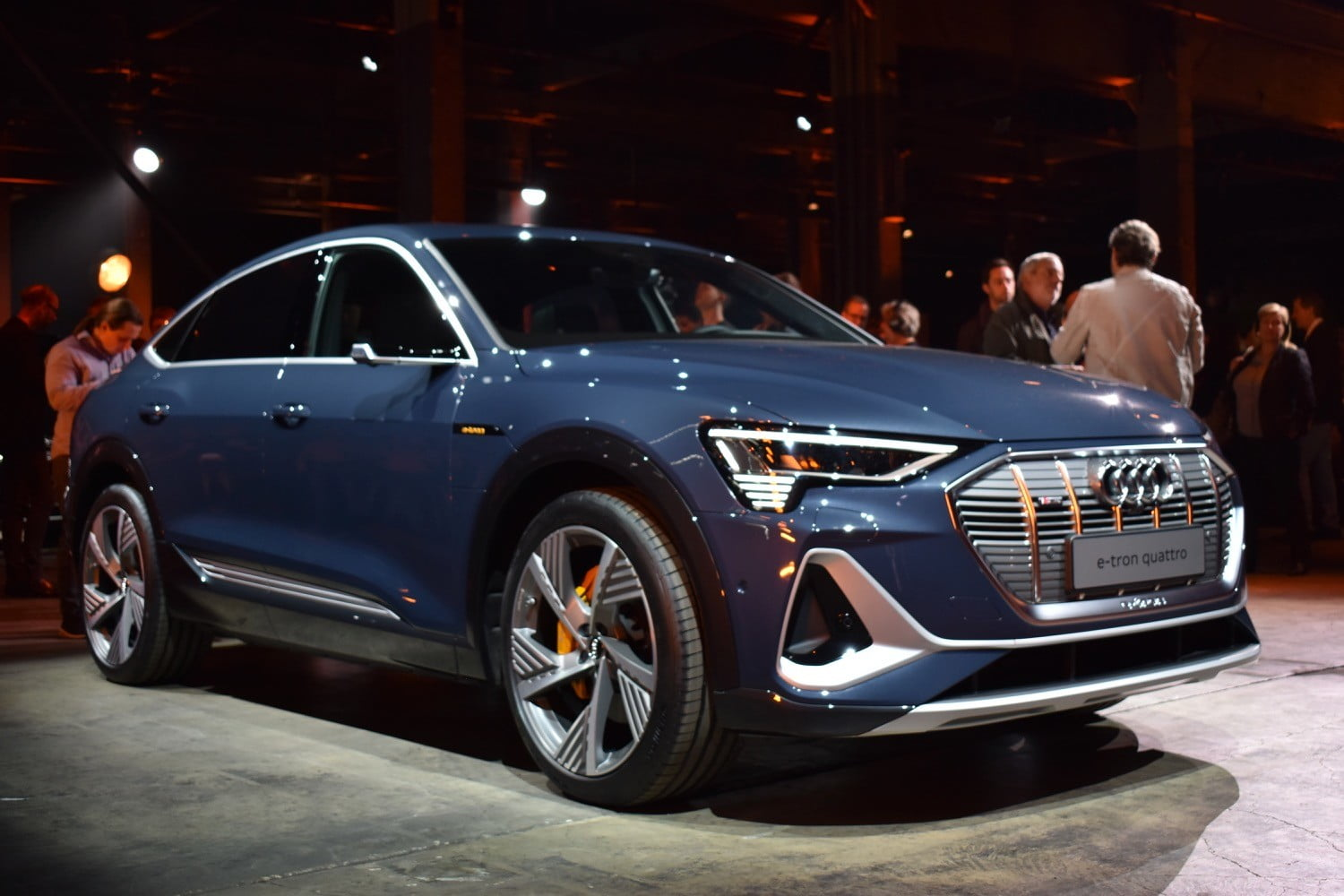 2020 Audi E-Tron Sportback is all about style, but still has substance