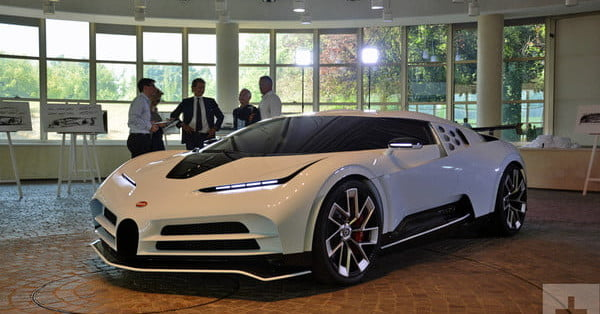 The Bugatti Centodieci is only possible because of the latest design tech