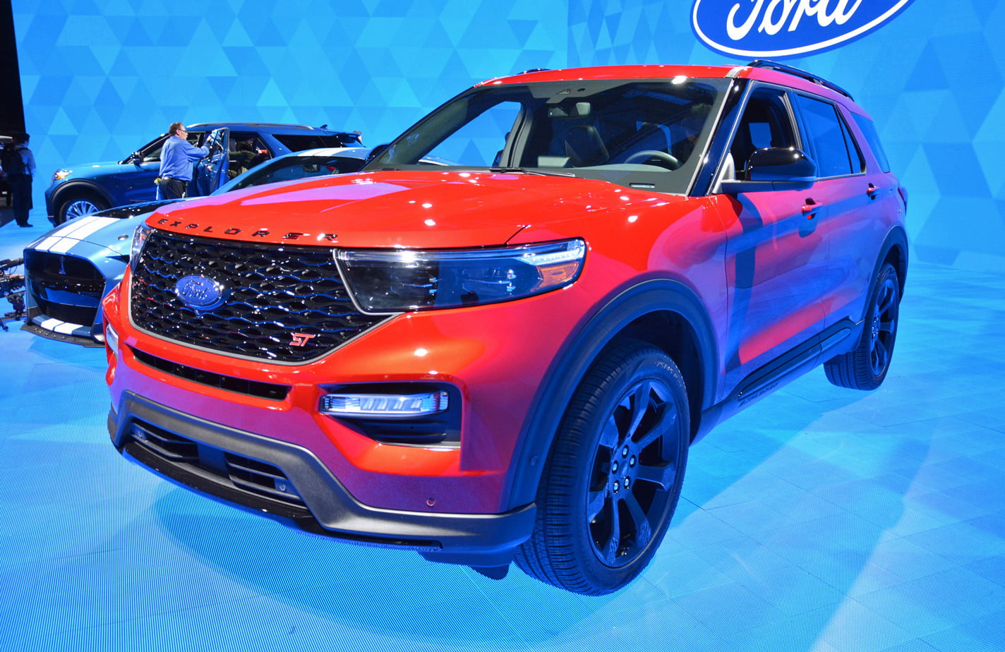 2020 Ford Explorer St And Hybrid Debut At 2019 Detroit Auto Show