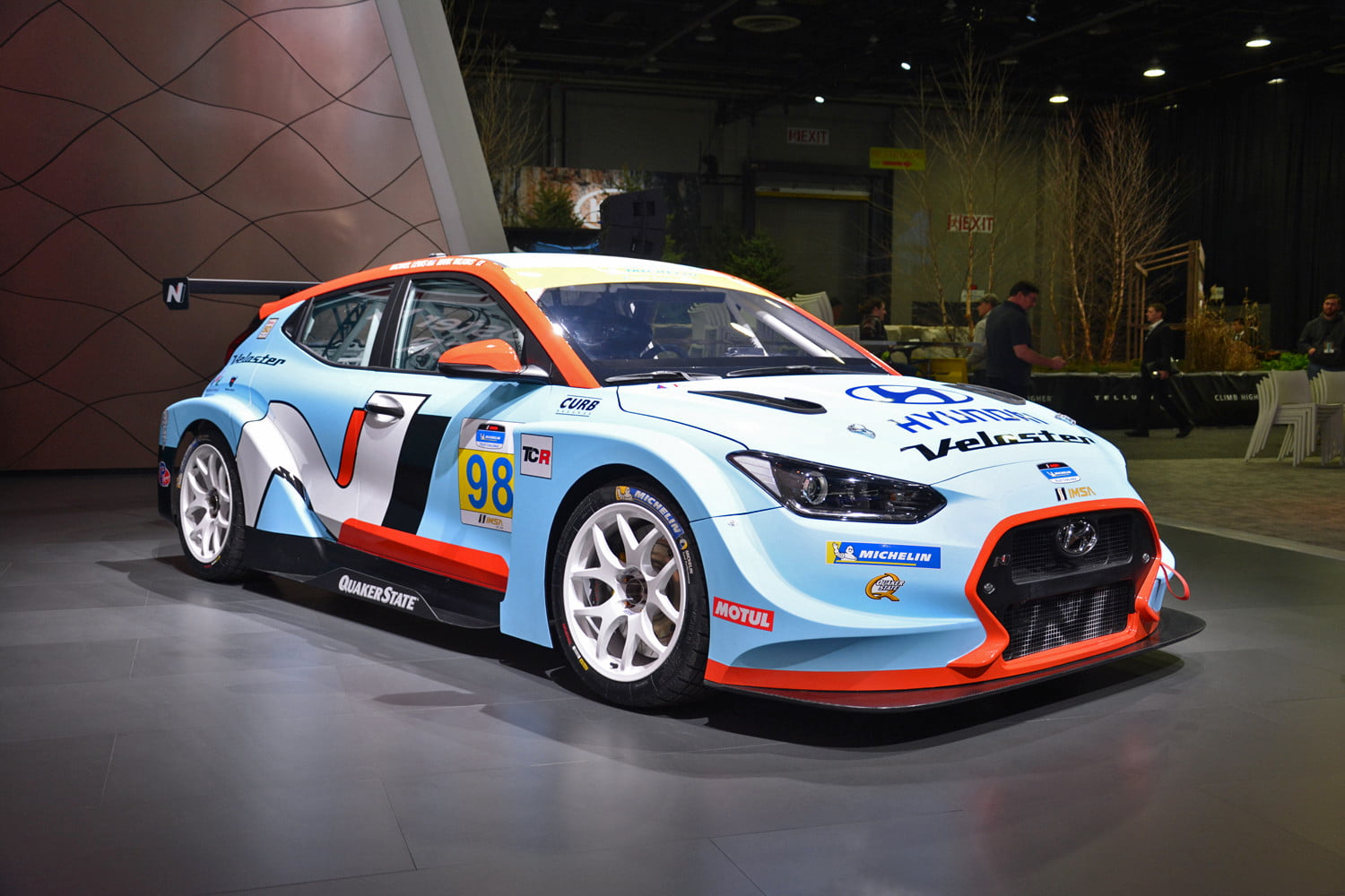 Hyundai Veloster N TCR Race Car Unveiled at 2019 Detroit