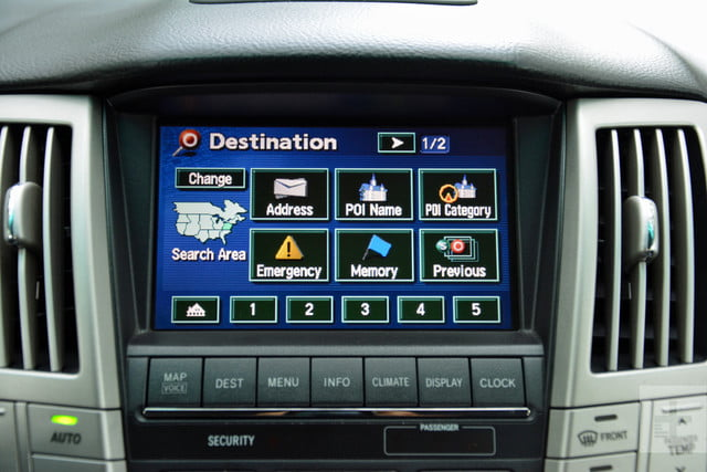 the evolution of car infotainment systems dt first gen lexus rx system 4