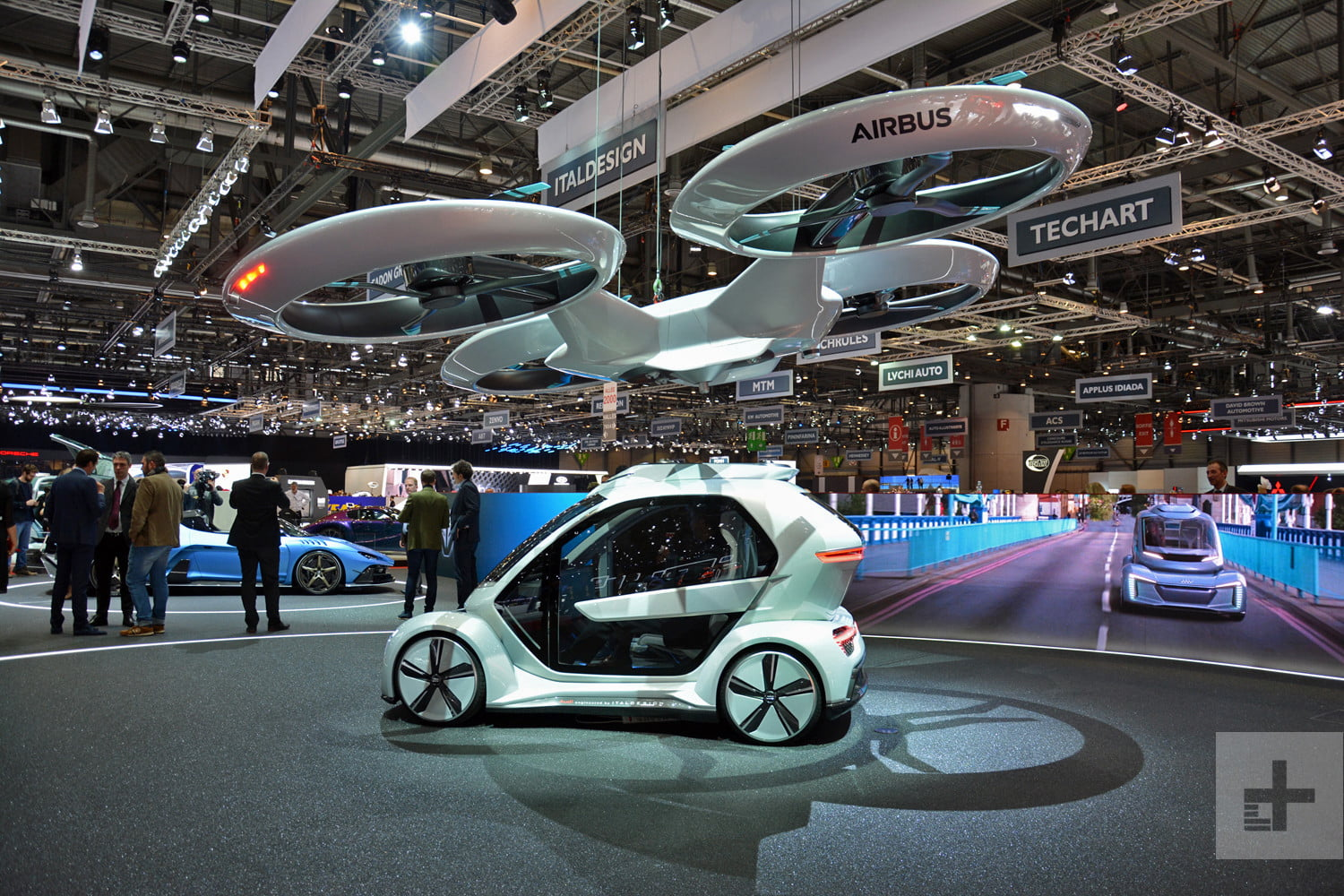 Germany plans to put Airbus and Audi's cool flying taxi concept into the sky