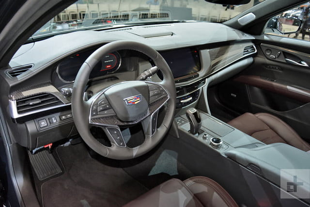 2019 Cadillac Ct6 V Sport Gets New Look New V8 Engine