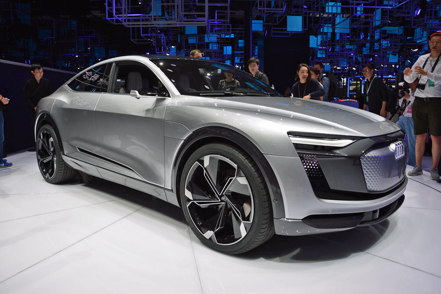 Audi Plans 10 Electric Cars By 2025 Most On A Modular Platform Digital Trends