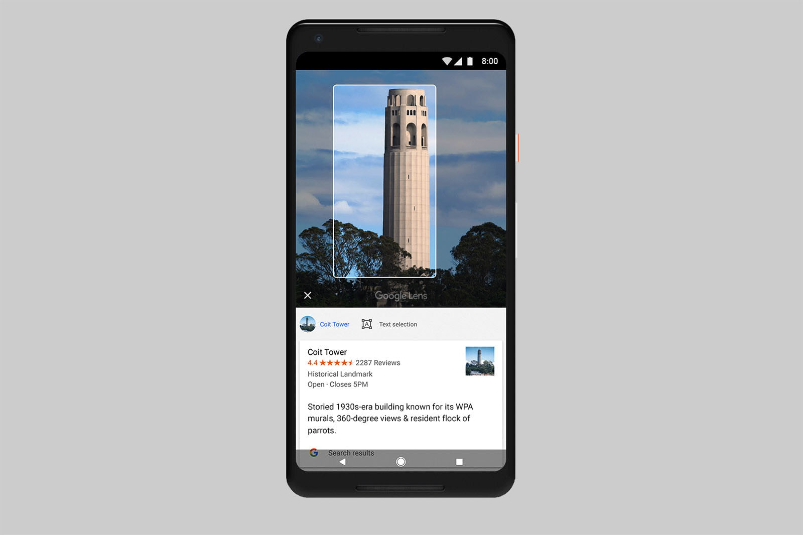 Google Lens Smart Camera Expands to All Android -- with iOS