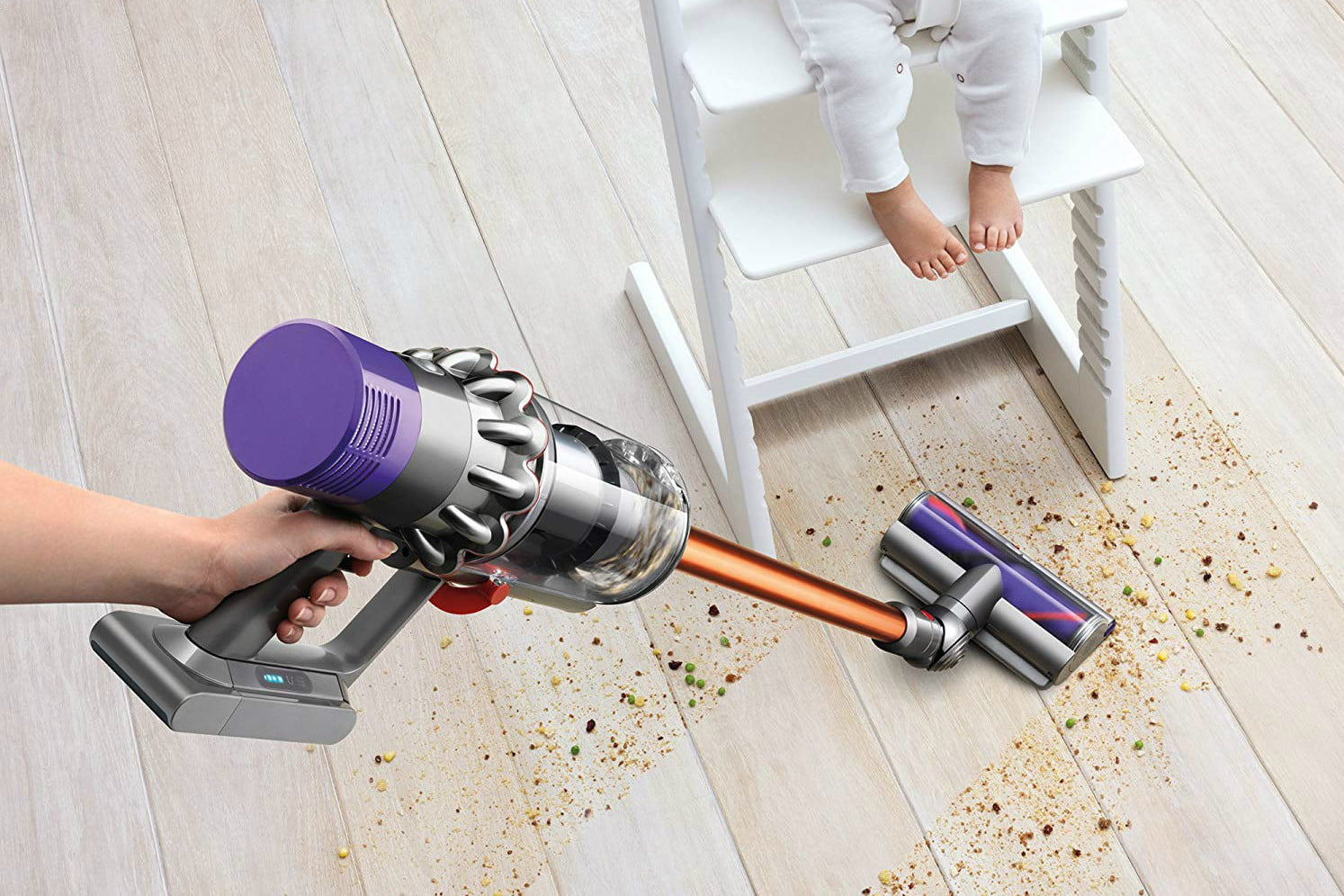 Amazon slashes price of the Dyson Cyclone V10 cordless vacuum by $203 off