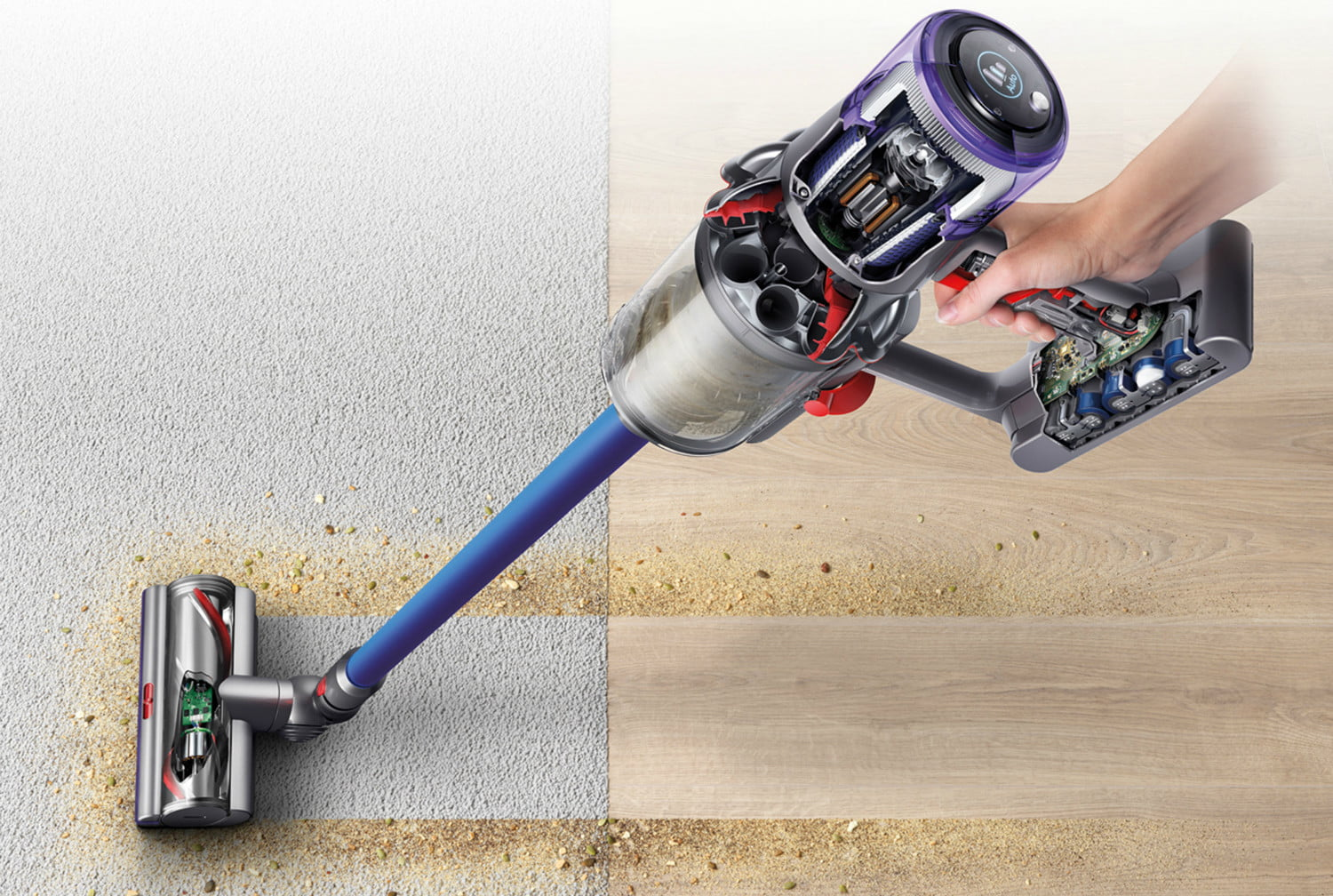 Amazon slashes prices on most Dyson cordless stick vacuums