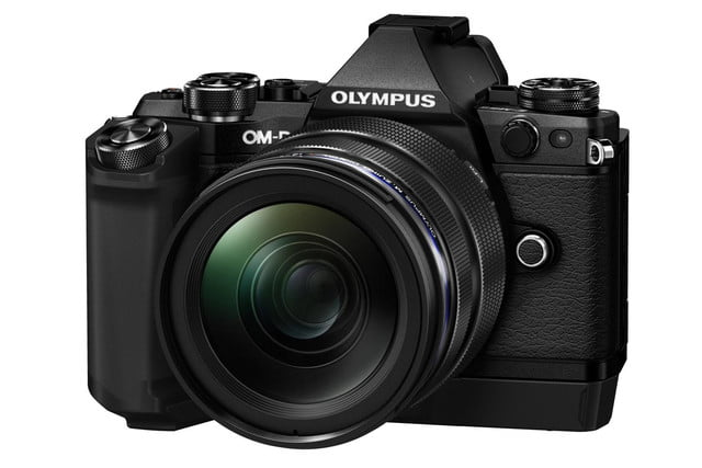olympus e m5 mark ii puts focus movie stabilization 40 megapixel photos m5markii blk right m1240 hld8g