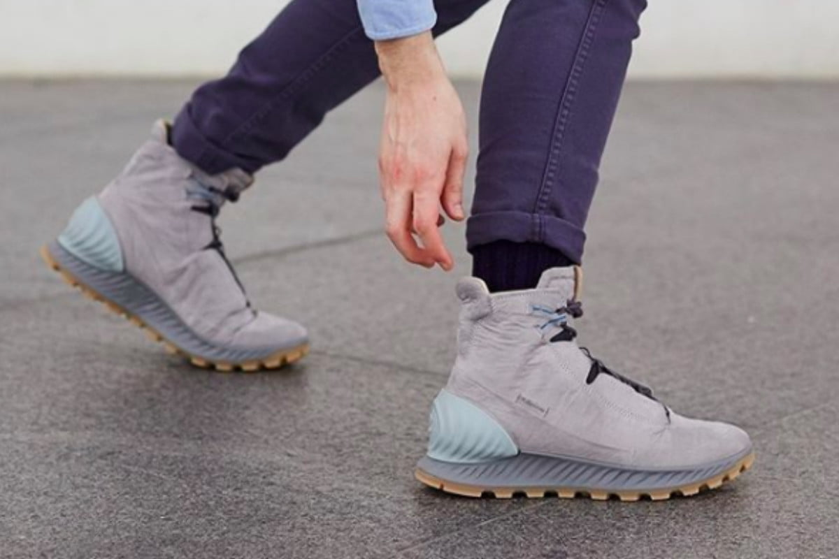 Ecco's Exostrike Boots Are Made With