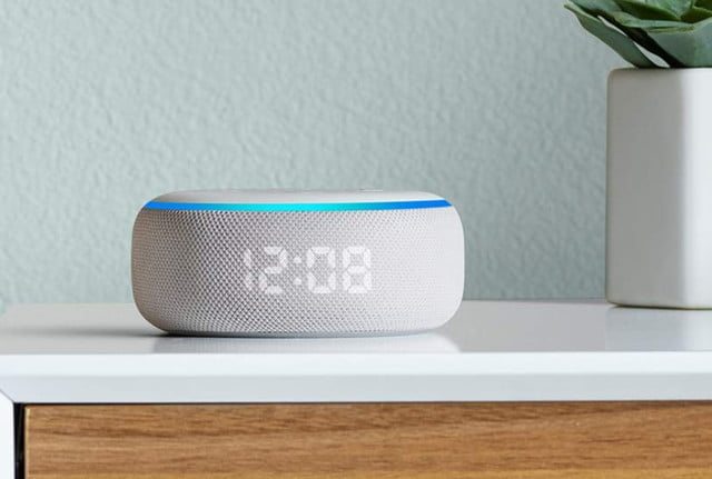 amazon cuts the prices on new echo dot with clock and show 5 01  1
