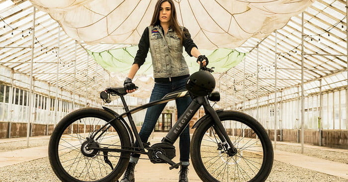 Café racer-inspired ebike hits 28 mph quickly and quietly with carbon belt drive