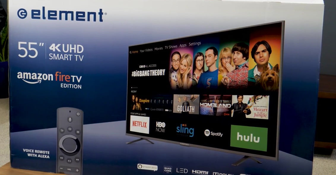 Element Amazon Fire TV Unboxing and Setup | Digital Trends
