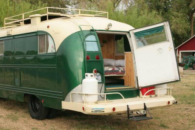 coolest bus to mobile home conversions emerald gypsy 4