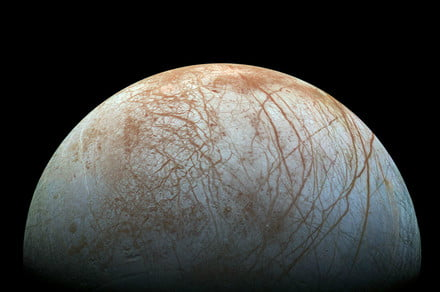 NASA discovers water vapor — and maybe more — on Jupiter's moon Europa