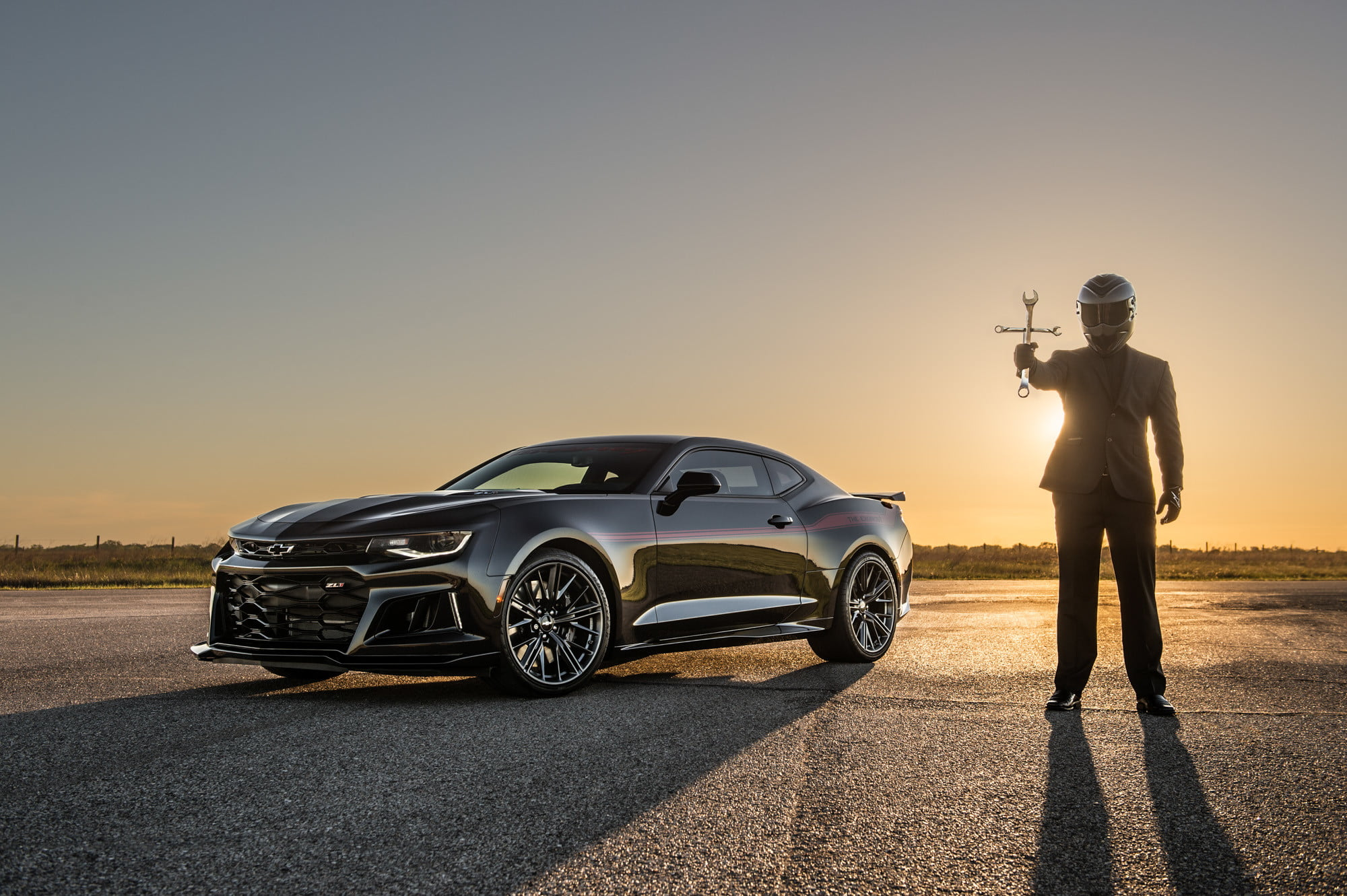 Demon-slaying Hennessey Exorcist Camaro Hits Top Speed of