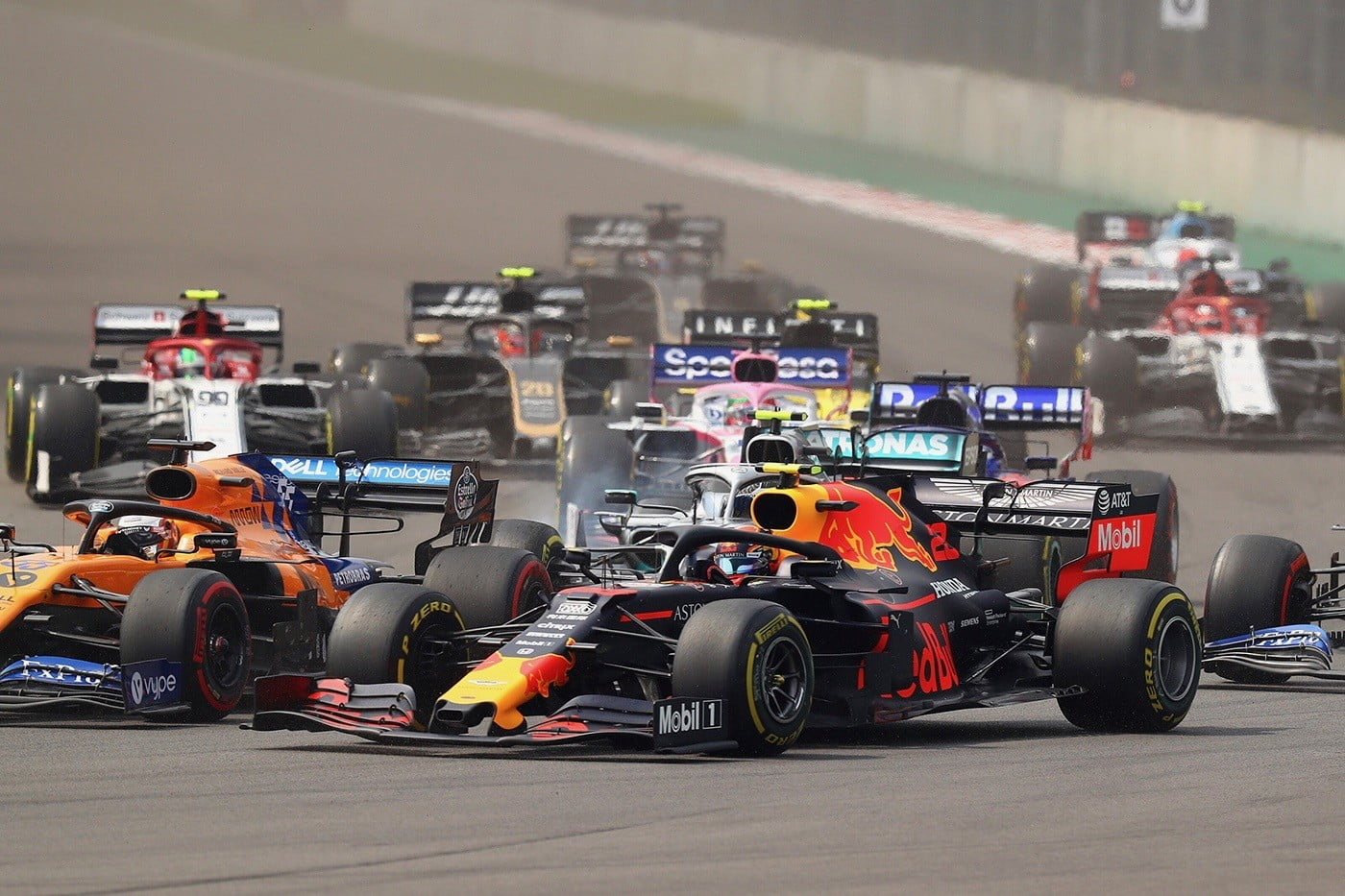 Formula One is adding cost caps in 2021, so teams are spending even more for 2020