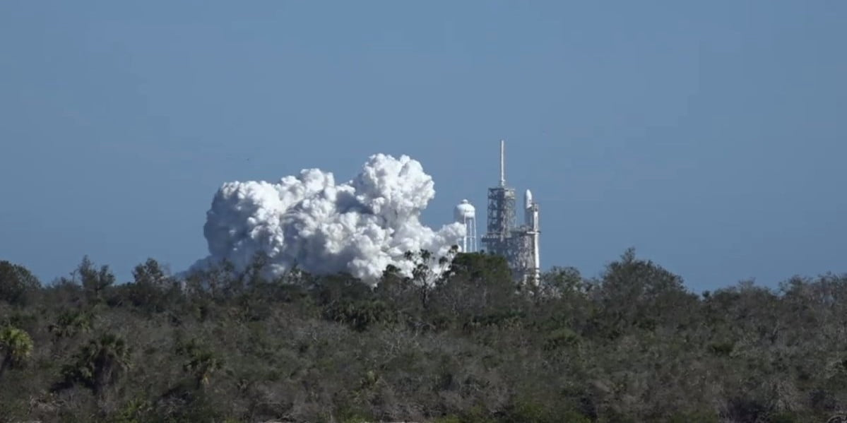 SpaceX just fired its most powerful rocket ever. Next stop, a Tesla in space