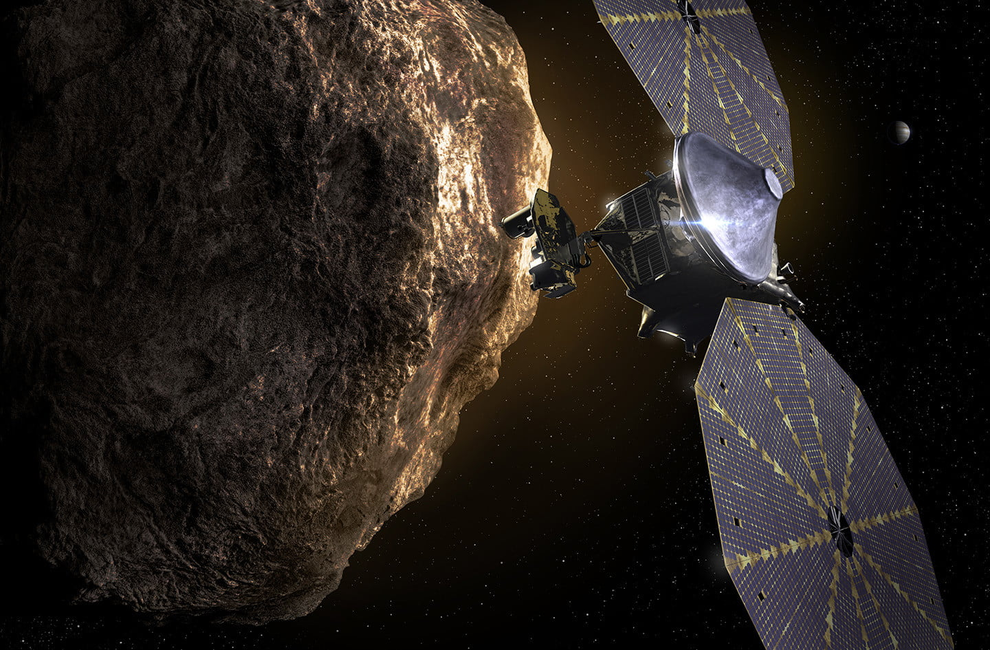 NASA's Lucy spacecraft could unravel the mystery of how the solar system formed