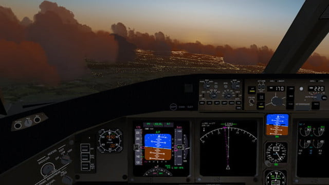 Flightgear simulator