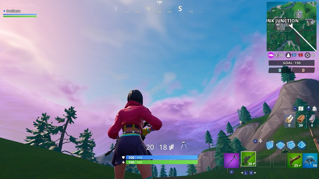 Fortnite Week 3 Challenges Throw The Flying Disc Toy