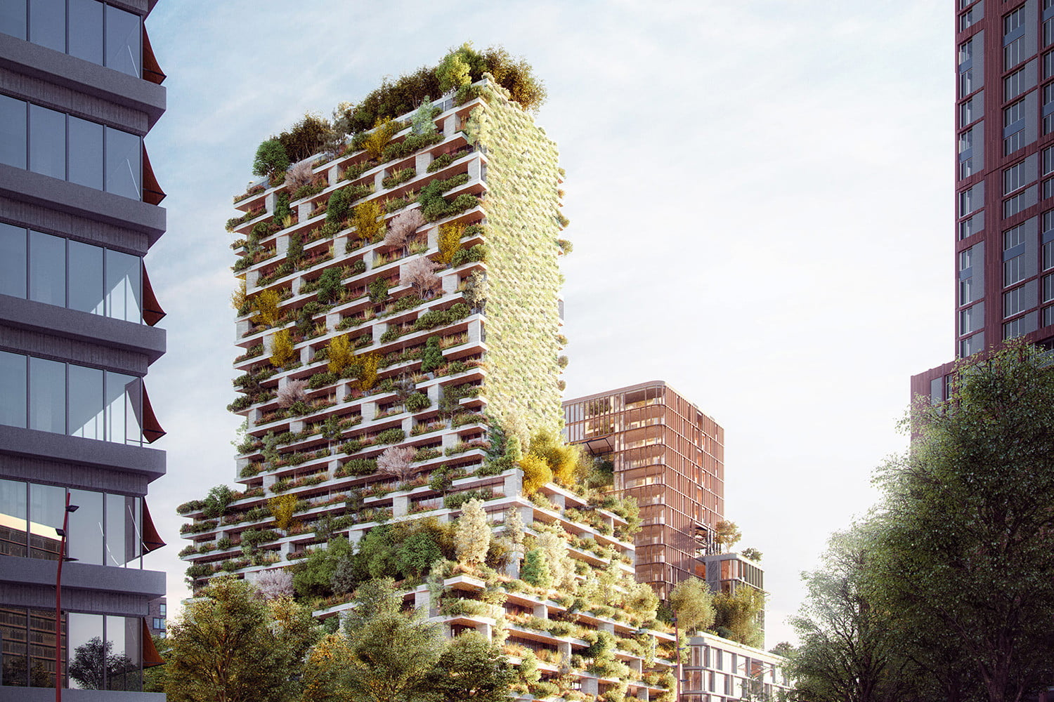 These Wild Farms and Forests are Taking Root on Skyscrapers