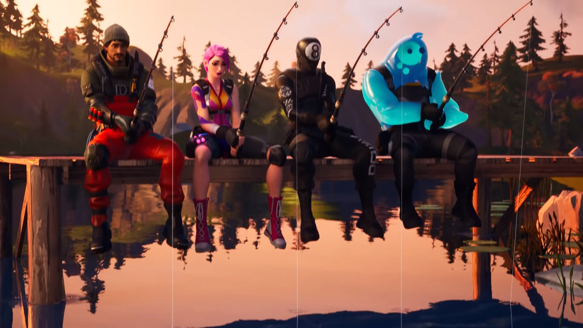 How to fish in Fortnite: Chapter 2