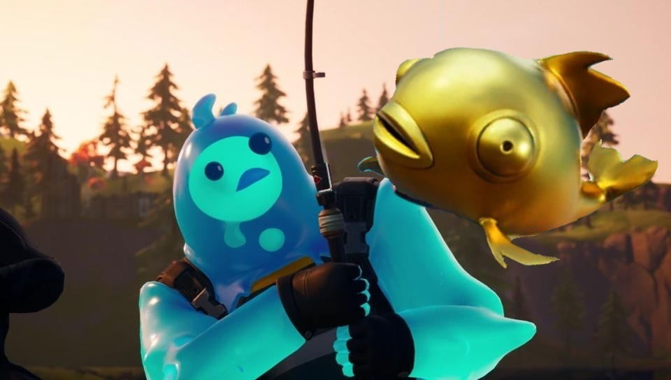 Fortnite Players Discover Golden Fish That Eliminates