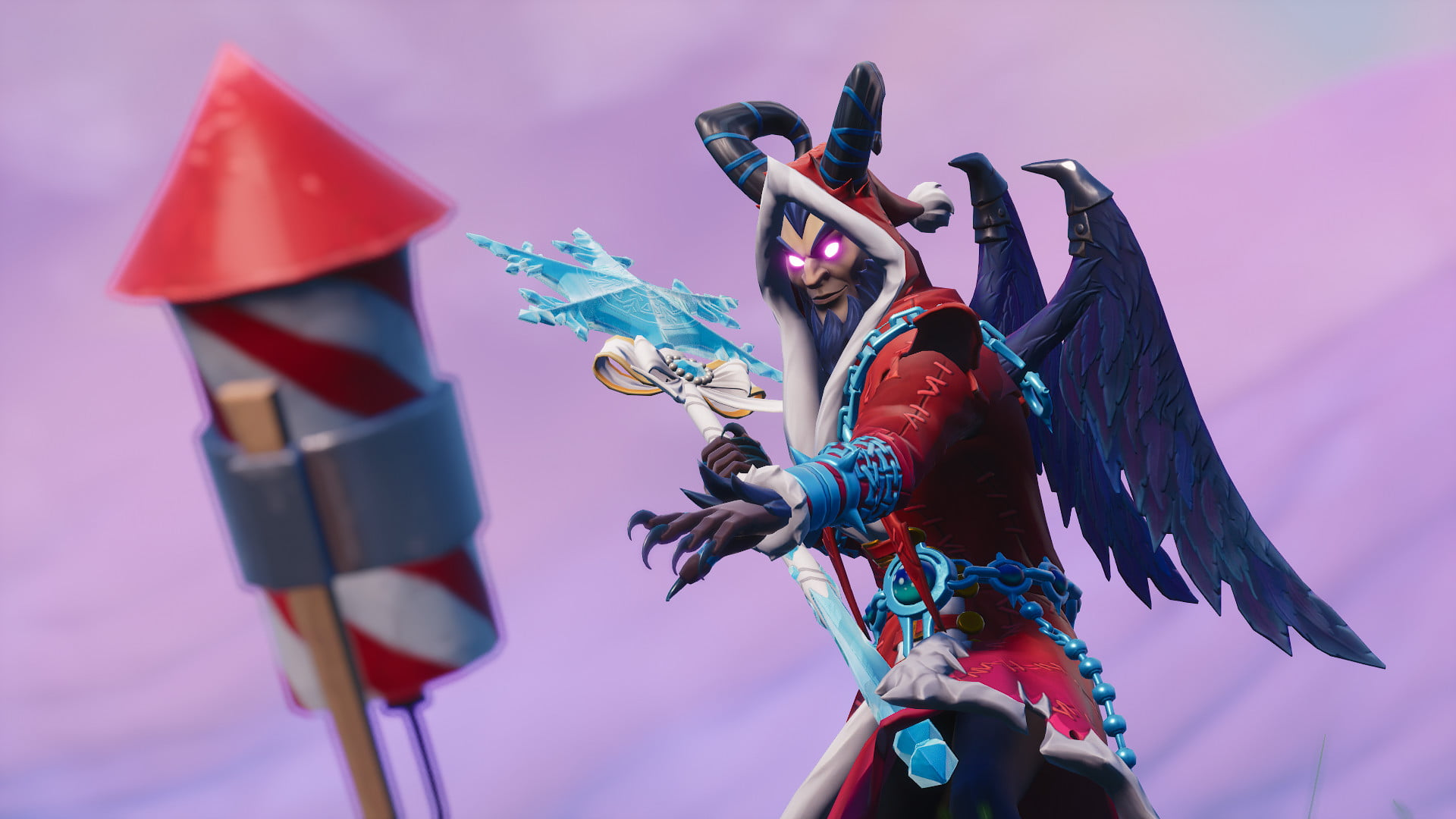 Fortnite Week 4 Challenges: Launch Fireworks at 3 Locations