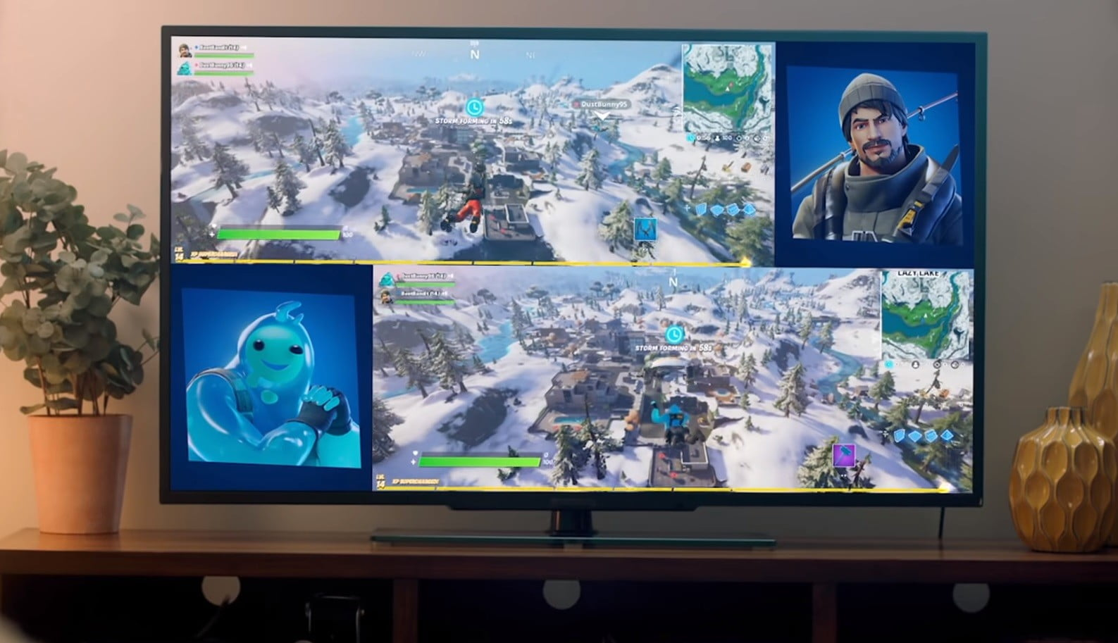 How To Play Split Screen In Fortnite Digital Trends