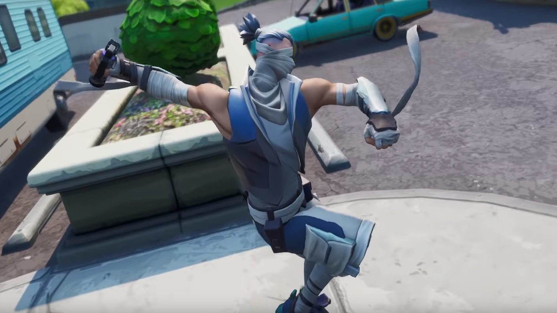 Fortnite v8 51's new Shadow Bomb turns you into an invisible