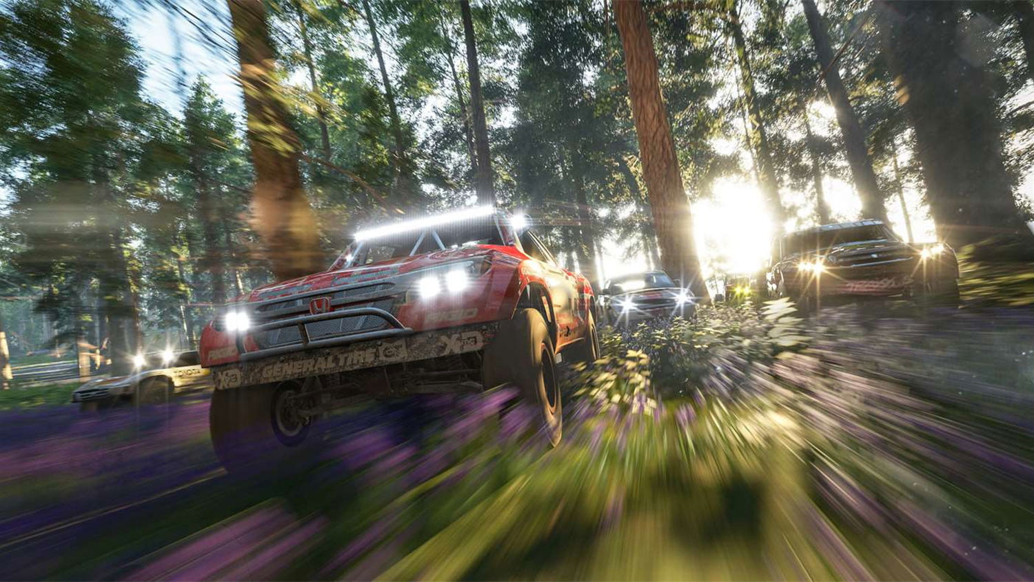 Forza Horizon 4': How to Complete the Lumberjack Skill