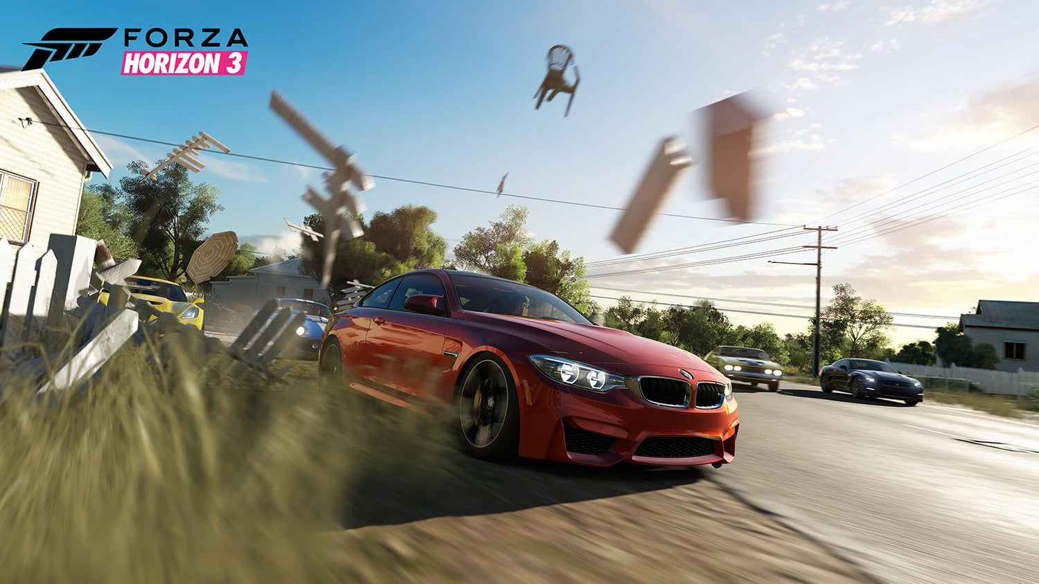 Forza Horizon 3 shows off new four-player co-op gameplay