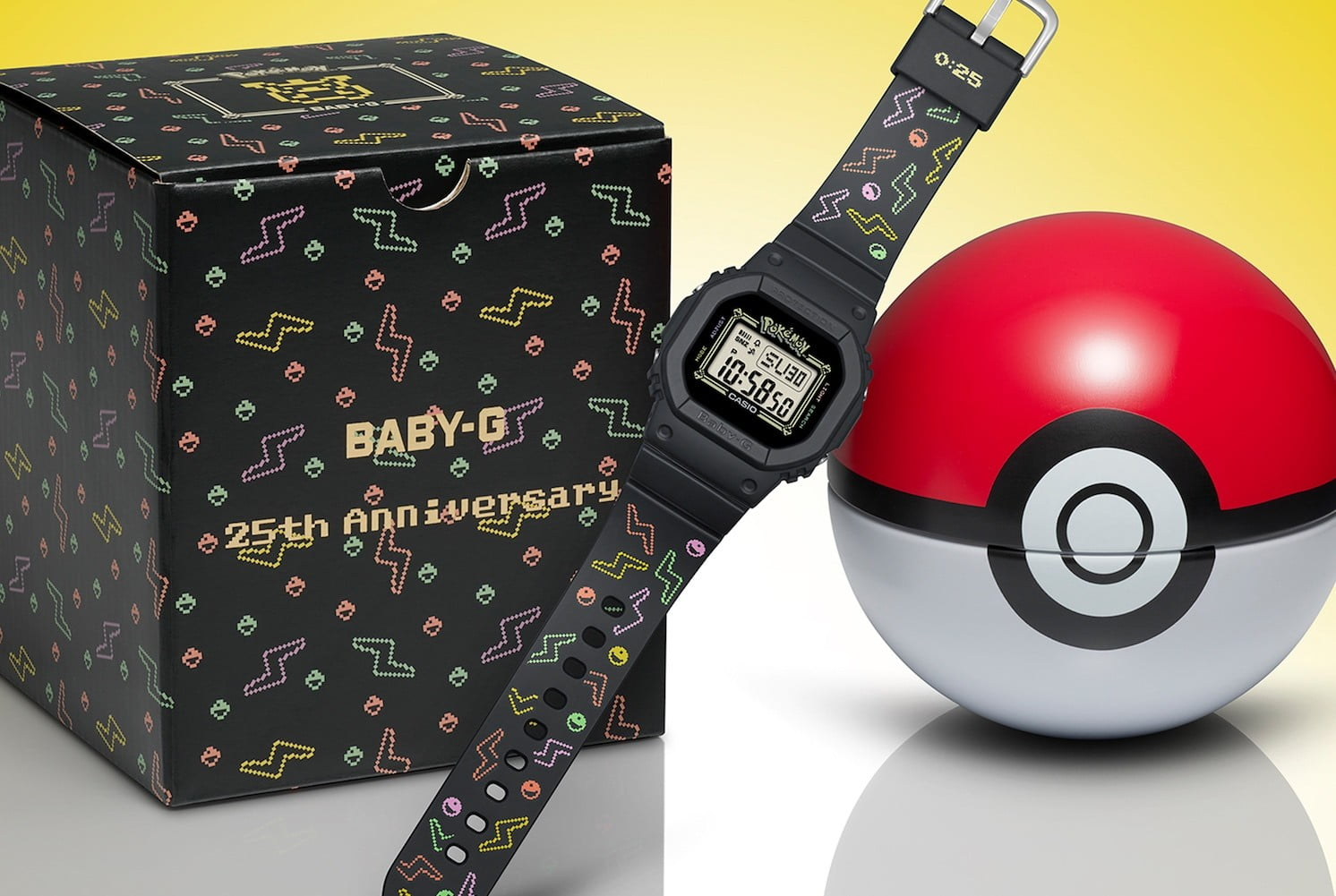 G Shock Has Made The Ultimate Retro Cool Baby G Pokémon