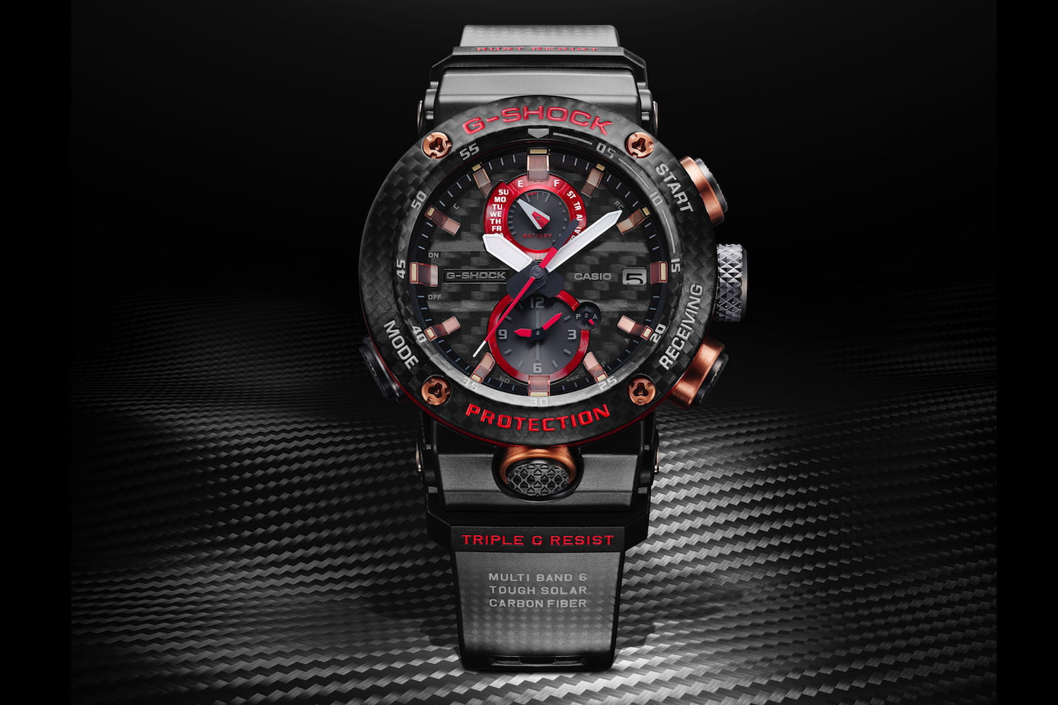 Stunning G Shock Is Virtually Indestructible In Carbon Fiber