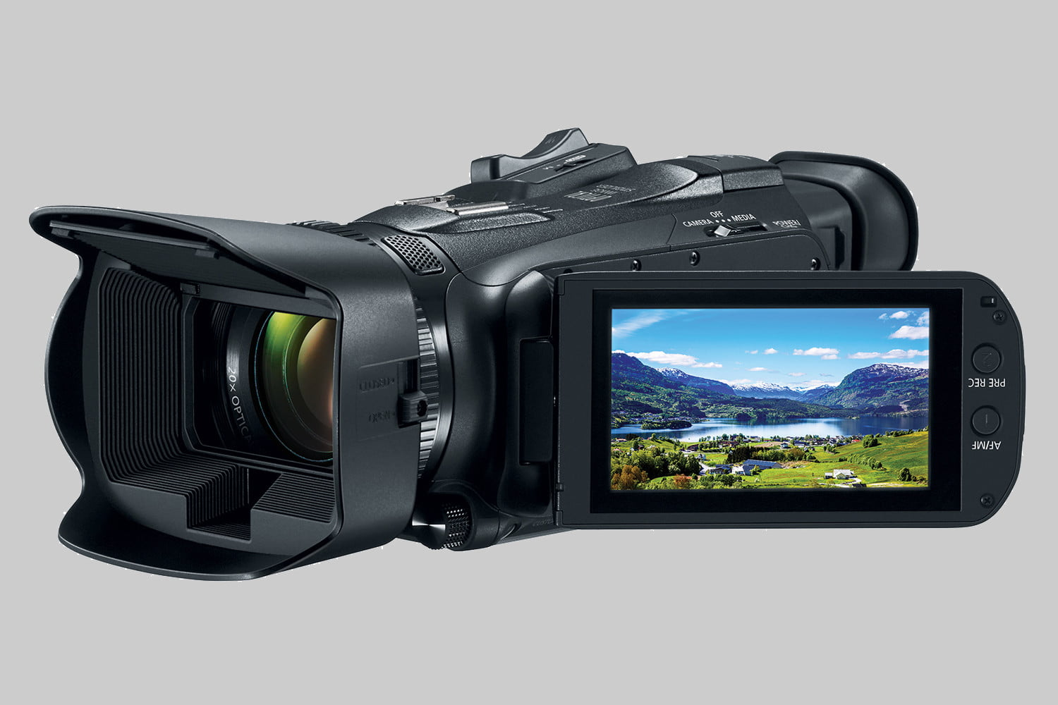 Canon pulls veil off its 4K prosumer and waterproof camcorders at CES 2019